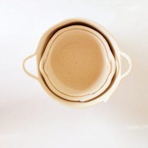 Set of cotton baskets 2