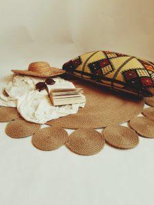 circles jute rug