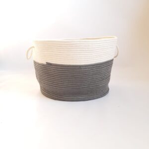 Large Storage Cone Cotton Silk Basket