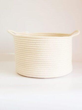 large cotton basket