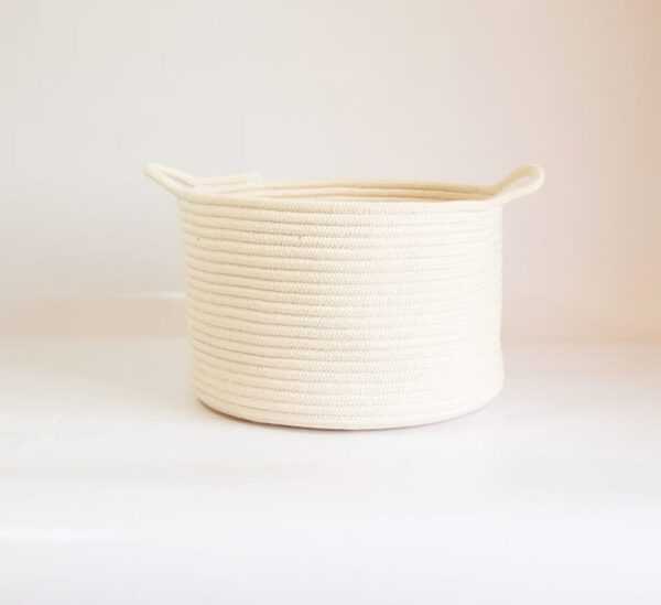 large cotton basket