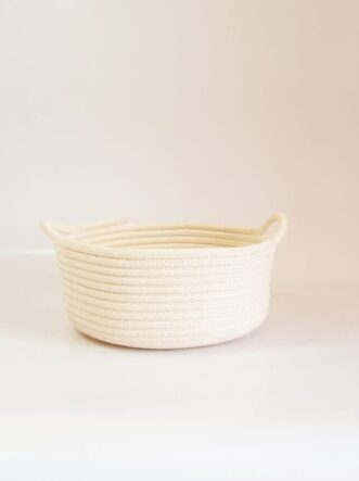 small cotton basket