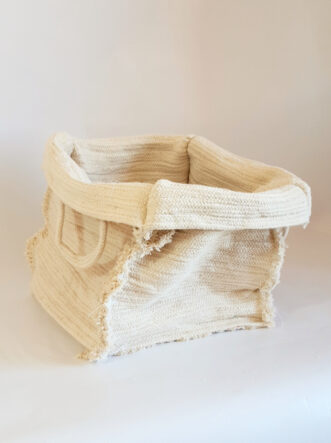 Cube cotton basket