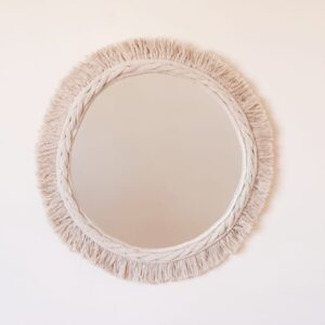 cotton mirror 50 cm