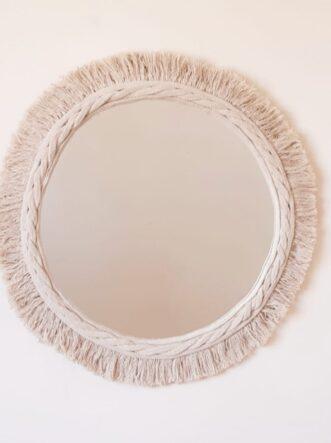 cotton mirror 50 cm