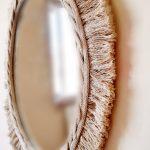 cotton mirror 50 cm detailed