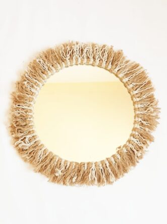 cotton mirror 35 cm