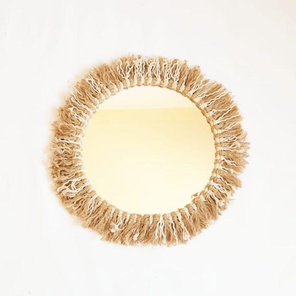 cotton mirror 35 cm