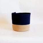 medium silk navy blue