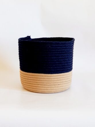 medium silk navy blue